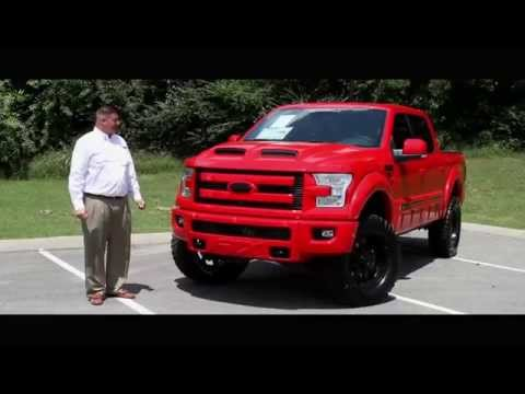 2015 Ford F-150 Lariat FTX by Tuscany Race Red