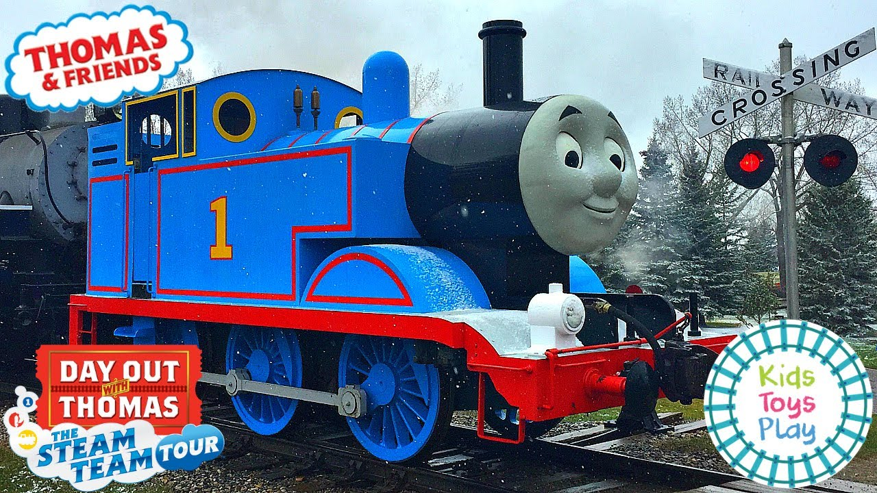 Thomas & Friends Day Out With Thomas 2019 Steam Team Tour