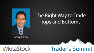 The Right Way to Trade Tops and Bottoms - Steve Primo