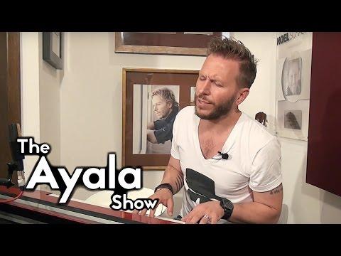 Noel Schajris - No Te Pertenece - live on The Ayala Show