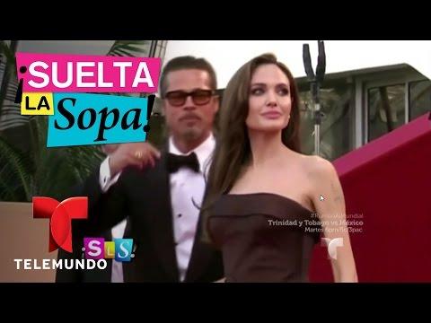 ¿Brad Pitt y Angelina Jolie hicieron las paces? | Suelta La Sopa | Entretenimiento