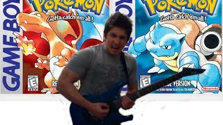 Pokemon Guitar Medley - RED vs BLUE