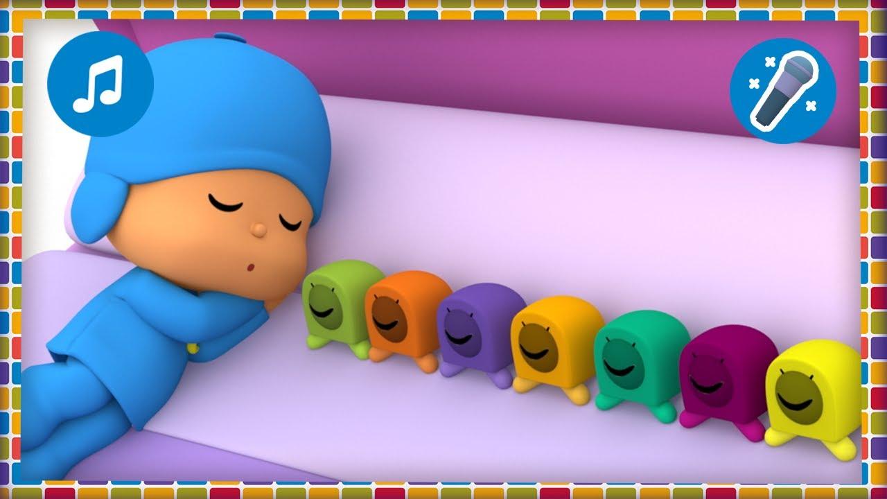 🎤  10 en la cama [Aprende los números] | Karaokes, Caricaturas, Dibujos, Canciones para niños