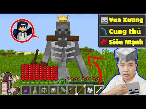 Minecraft, Nhưng bqThanh là VUA NGƯỜI XƯƠNG SKELETON Siêu Ngầu Trol Ốc...