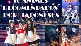 Top 10 de Animes Recomendados por los Japoneses (Anime Total)