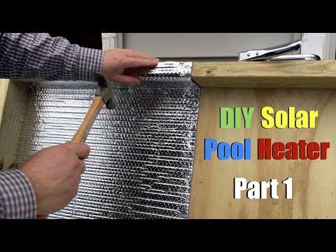 DIY Solar Pool Heater - Part 1