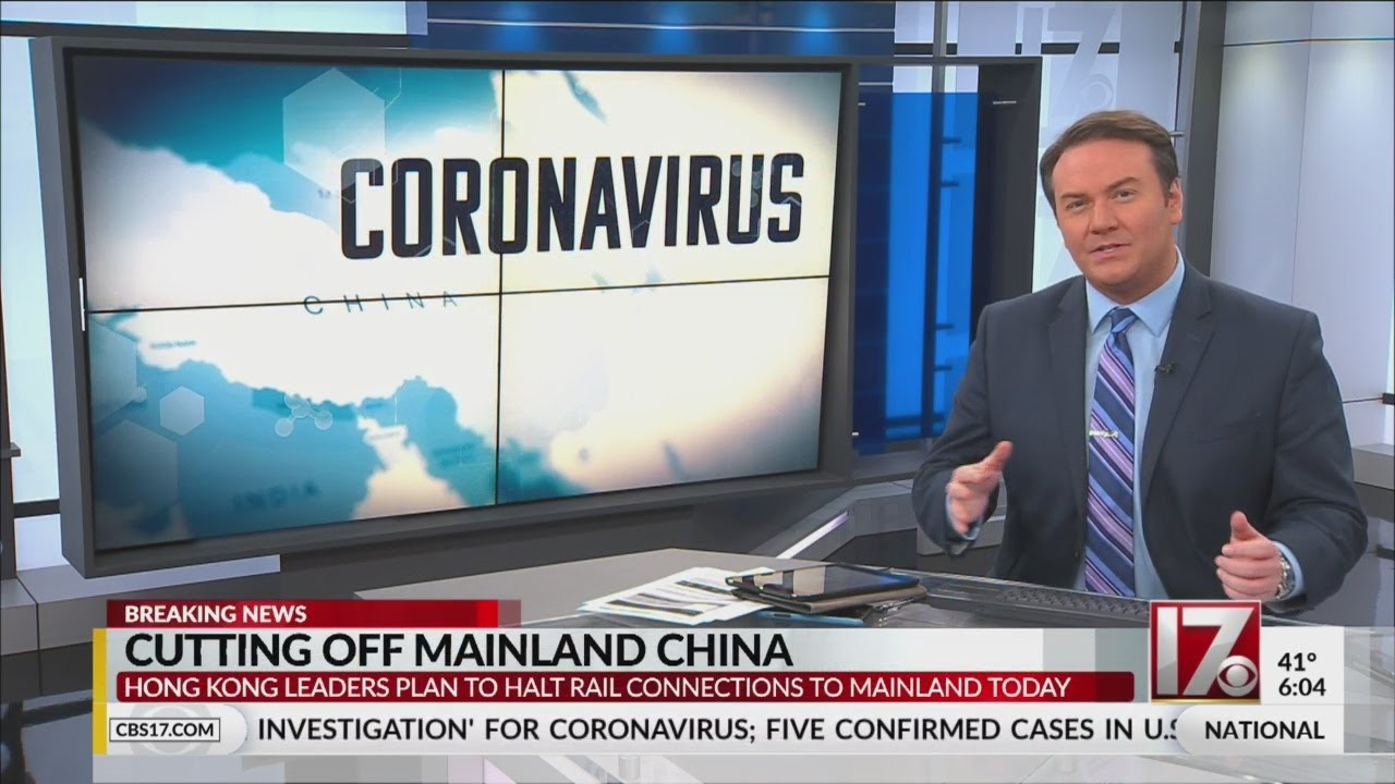 Cutting off mainland China due to coronavirus