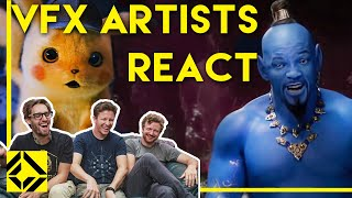Download VFX Artists React to Bad & Great CGi 2 Mp3 and Videos
