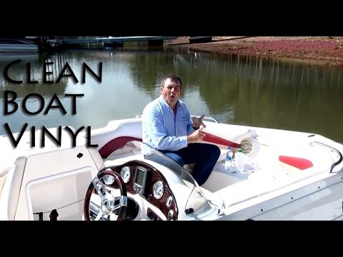 How to clean your Boats Seats