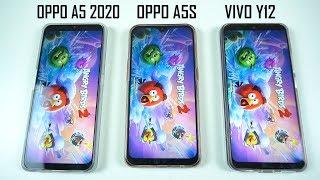 OPPO A5 2020 VS OPPO A5S VS VIVO Y12 | SPEEDTEST , TES KAMERA DAN SKOR ANTUTU !!!