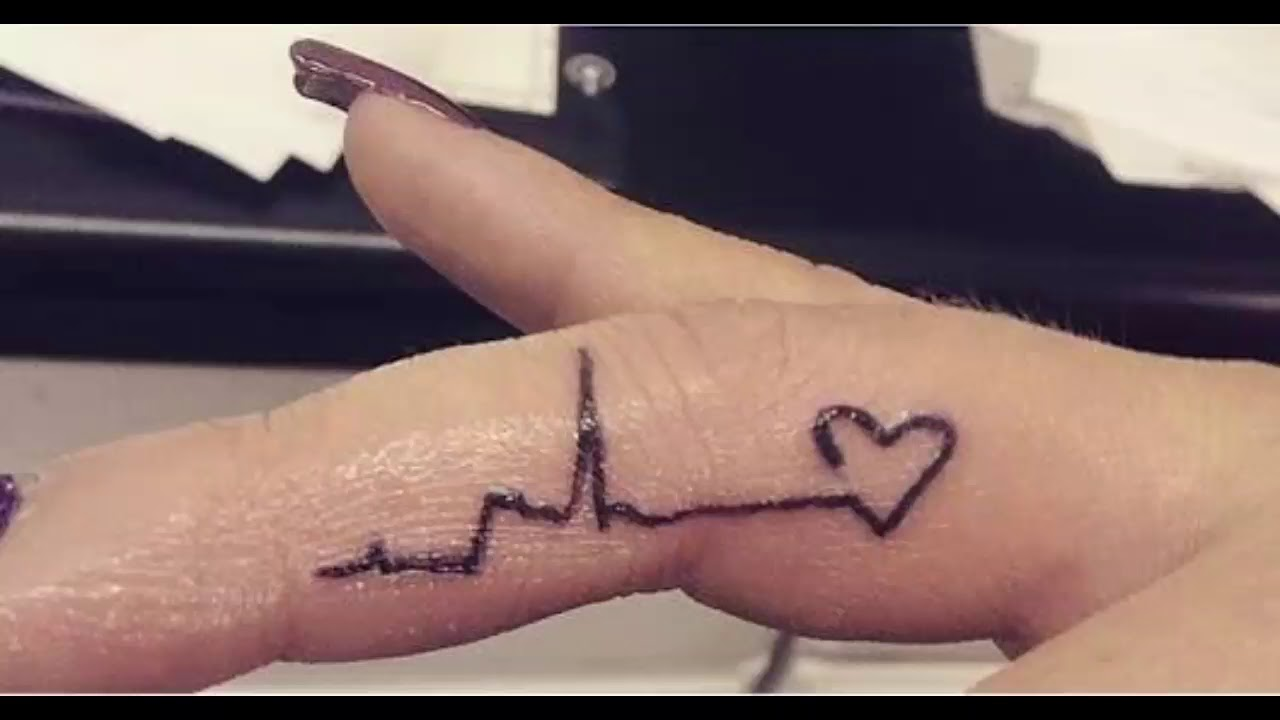 25 Heartbeat Tattoo Ideas And Design Lines For Everyone Feel Your Own Rhythm