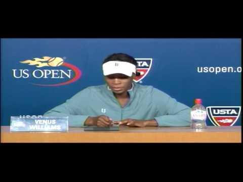 2009 US Open Press Conferences: Venus Williams (First Round)