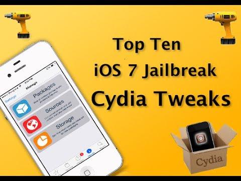 Top Ten Ios 7 Cydia Tweaks 2014 Ios 7 Jailbreak Evasi0n7 Youtube
