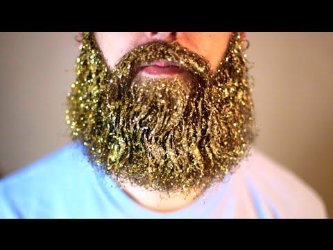 How to make a glitter beard youtube how to make a glitter beard solutioingenieria Gallery