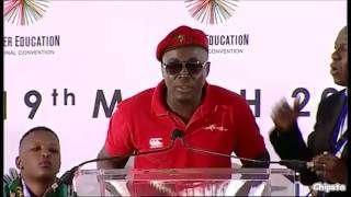 EFF promises not to cause trouble moment before a riot breaks out