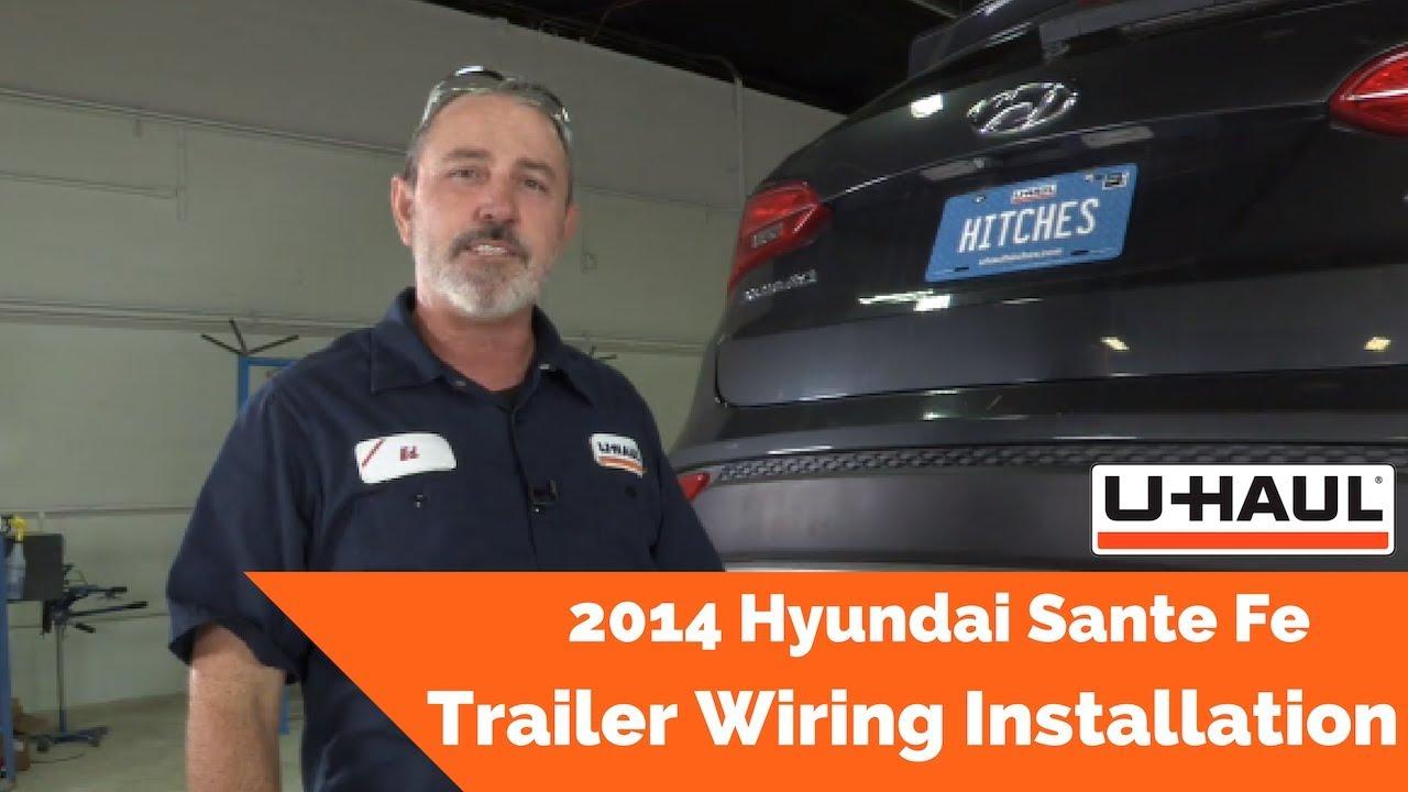 2014 hyundai santa fe trailer wiring installation [ 1280 x 720 Pixel ]