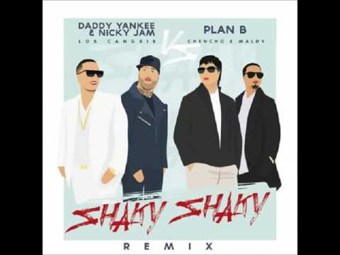 Daddy Yankee Ft Nicky Jam Y Plan B - Shaky Shaky Remix (Audio Oficial)