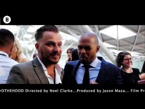 Dapper Laughs Speaks with Noel Clarke [brOTHERHOOD Premiere] @BOSSMEDIA