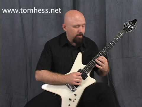 Sweep Picking Guitar Lesson