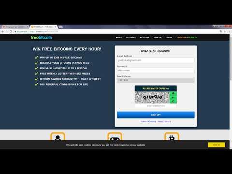 регистрация на Freebitco In
