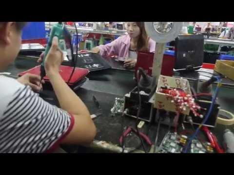 Newsun Factory Tour, Portable DVD Players, Power Banks and Bluetooth Speakers