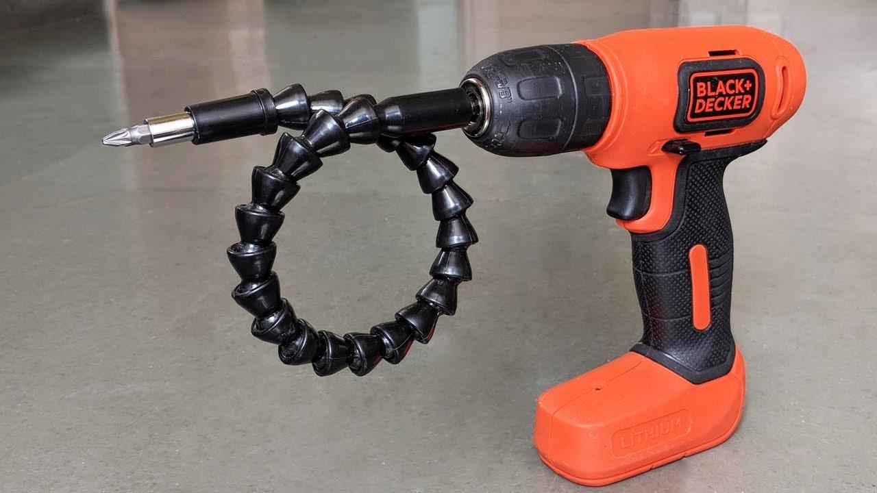 5 Amazing Drill Attachments !!!