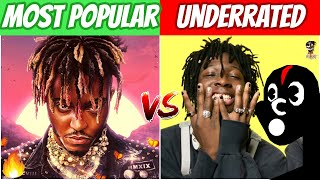 MOST POPULAR RAP SONGS OF 2020 vs MOST UNDERRATED RAP SONGS OF 2020! (So Far)