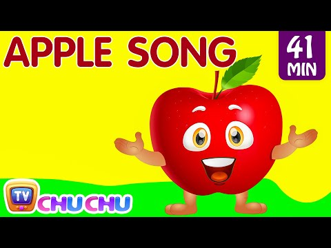 Thumbnail: Apple Song | Learn Fruits for Kids | Original Educational Learning Songs & Nursery Rhymes | ChuChuTV