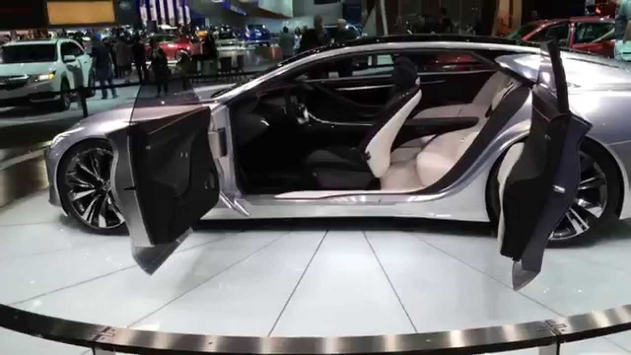 Suicide Doors On An Infinity Q80 Inspiration - YouTube