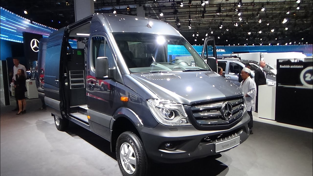 2017 mercedes-benz sprinter 319 cdi 4x4 - exterior and interior
