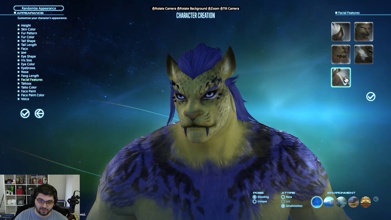 FFXIV: Hrothgar & Viera Character Creation Overview From Benchmark  (Highlight)
