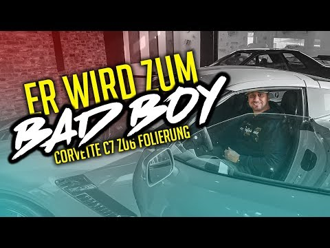 JP Performance - Er wird zum Bad Boy! | Corvette C7 Z06 Folierung
