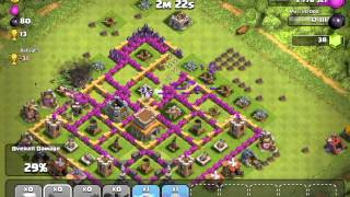 Clash of Clans Premature bases like there i just spam troops to get loot