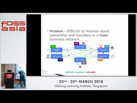 Blockchain -- Moving technology forward - Rakesh Tadishetty - FOSSASIA 2018