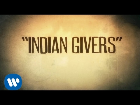 Neil Young - Indian Givers (Official Lyric Video)