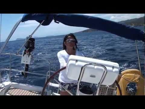 Sailing in the Saronic Gulf, Greece
