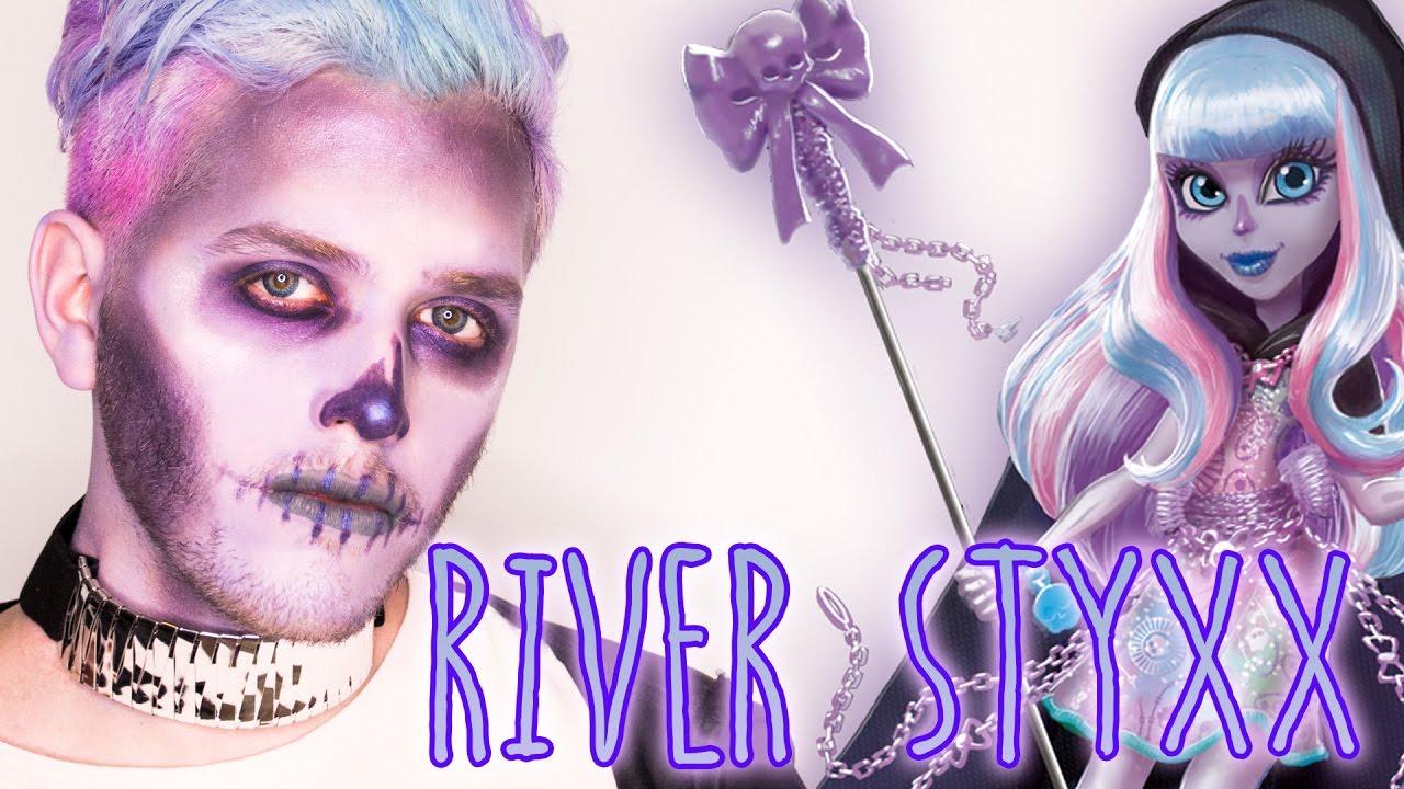 TUTORIAL HALLOWEEN RIVER STYXX CHICOS  Monster High Pastel