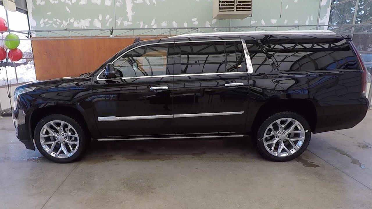 2018 Cadillac Escalade Esv Platinum Black Raven