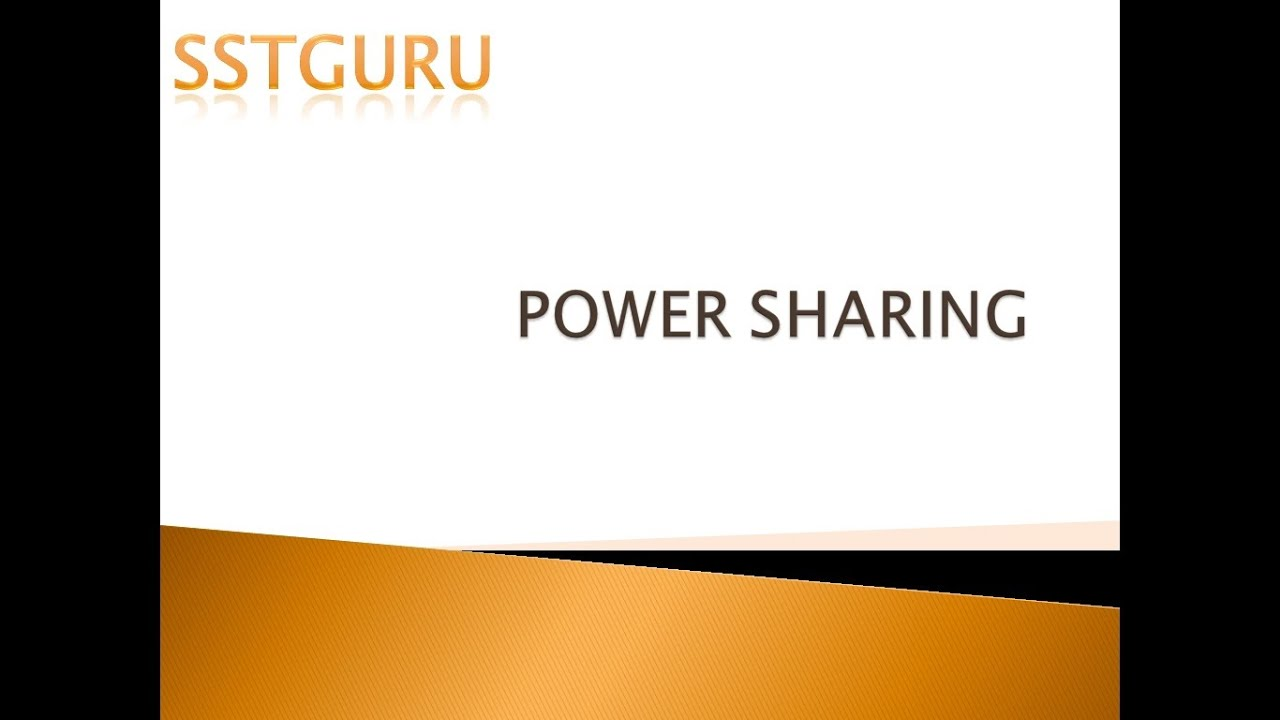 essay on power sharing in  essay on power sharing in