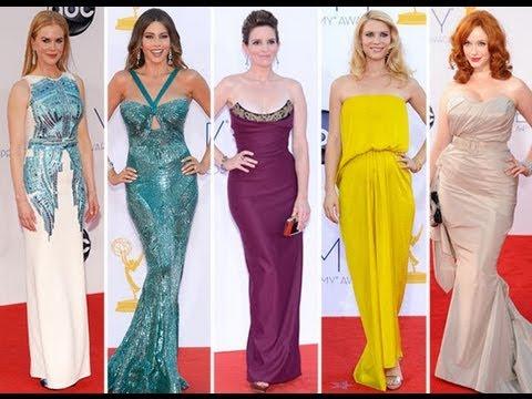 Emmys 2012 Red Carpet Photos