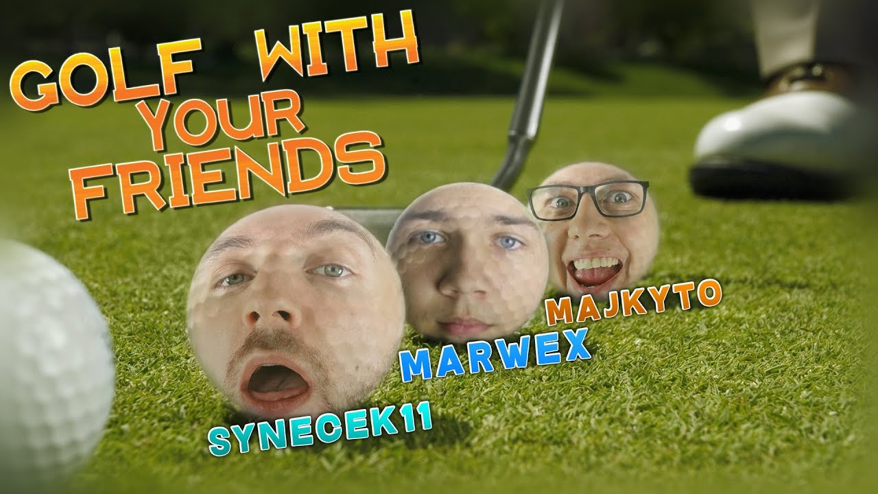 NÁHODNÉ TVARY | Golf With Your Friends w/ Marwex - YouTube