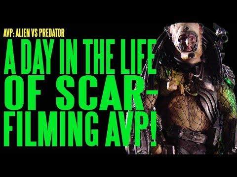 AVP Day In Life Of Scar Filming AVP ADI BTS