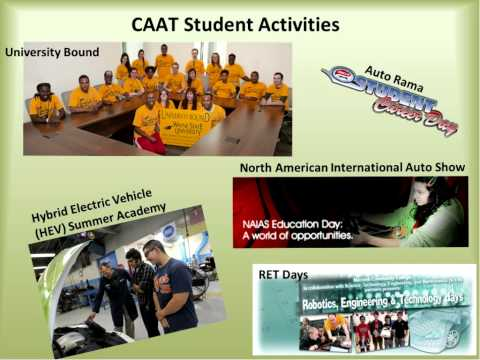 CAAT - Preparing Technicians for Careers in Advanced Mobility