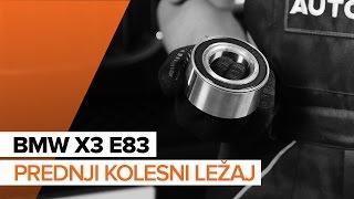 Popravilo BMW X3 naredi sam - avtomobilski video vodič