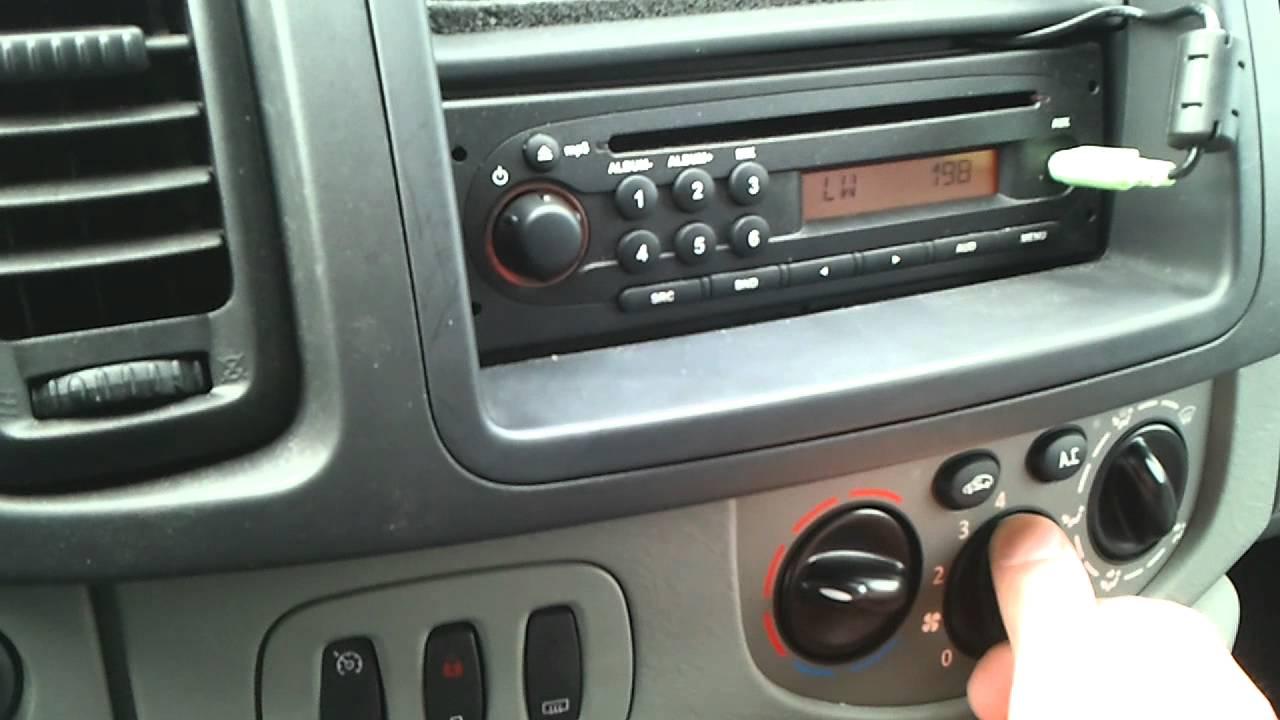 astra radio code instructions