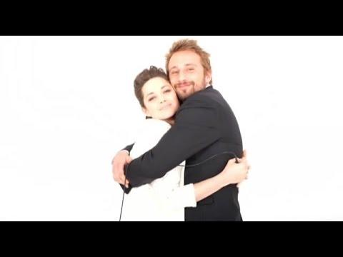 Marion Cotillard and Matthias Schoenaerts playing around  Le Studio Photo Cannes 2012