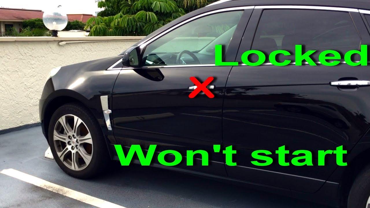 no remote detected cadillac srx 2010 12 won t start keyless entry locked door cts [ 1280 x 720 Pixel ]