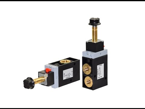 Pneumatic Solenoid Valves | Electrically Operated Pneumatic Valves