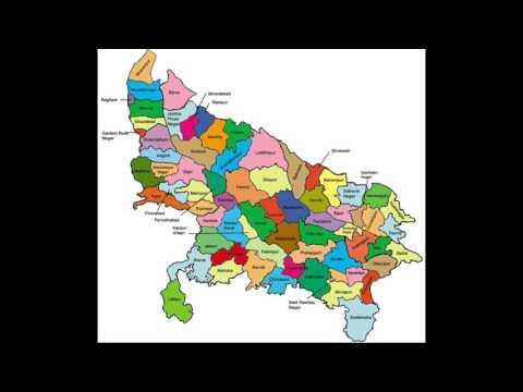 Uttar Pradesh District wise Election Polling Datesheet 2017