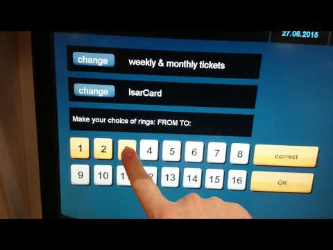 How To Buy A Weekly Card For Munich From An MVV Machine